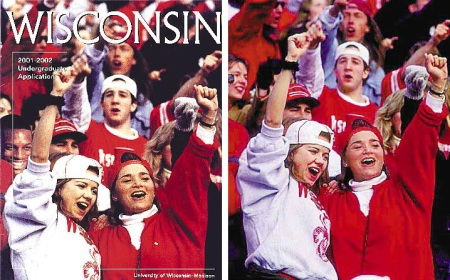 U. of Wisconsin doctored photo